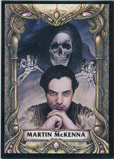 Auto retrato de Martin McKenna